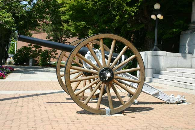 "US Army 6.2"" field gun 1899, Mt Vernon WA"